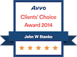 Avvo Client's Choice Award 2014 badge